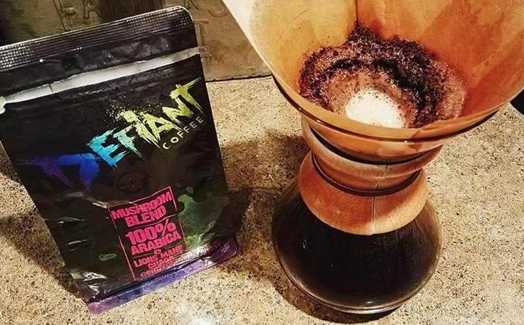 DEfiant Coffee Mushroom Coffee Blend